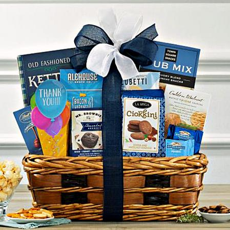 thank you corporate gift basket