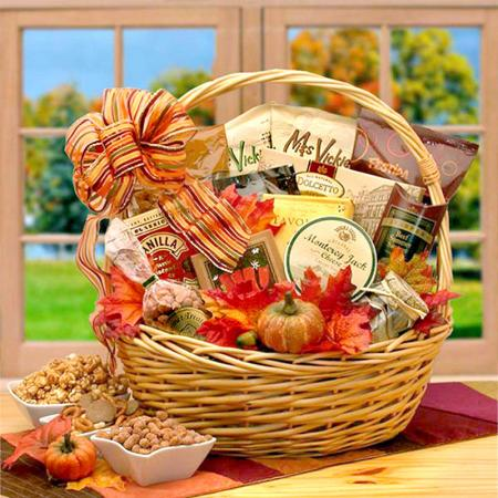 Fall Gourmet Food Basket