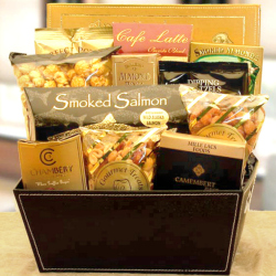 gourmet food gift basket