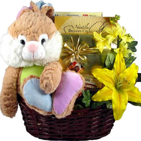 Too Cute Easter Bunny Basket