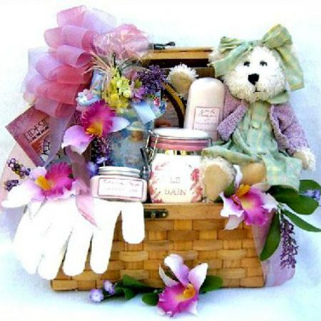 Treasured Woman Gift Basket For Her
