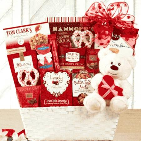 Send Valentine Gift Basket