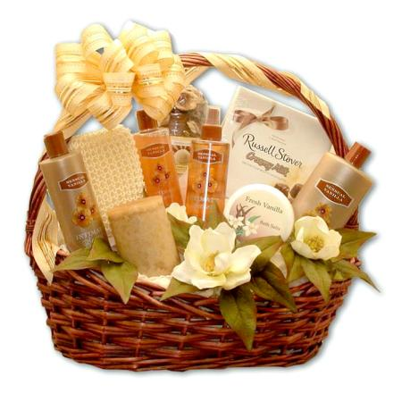 Aromatherapy Bath Basket
