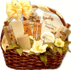 Luxury Aromatherapy Bath & Body Gift Basket