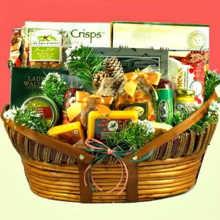 X-Large Holiday Basket