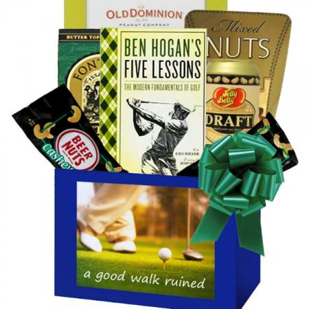 Golf Lover's Gift Box For Duffers and Serious Players