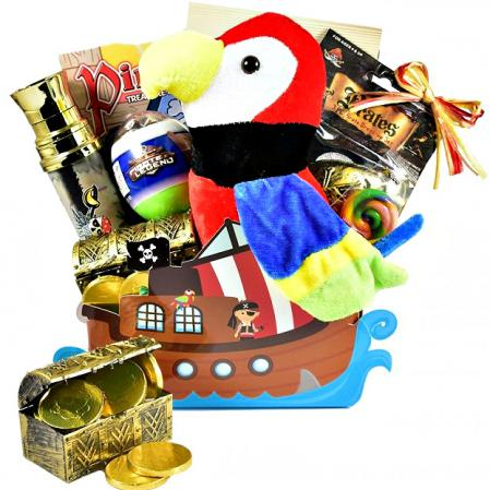 Ahoy Matey!, Pirate Themed Easter Basket