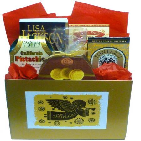 Alleluia Gold Gift Box