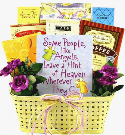 Angels Among Us, Gift Basket