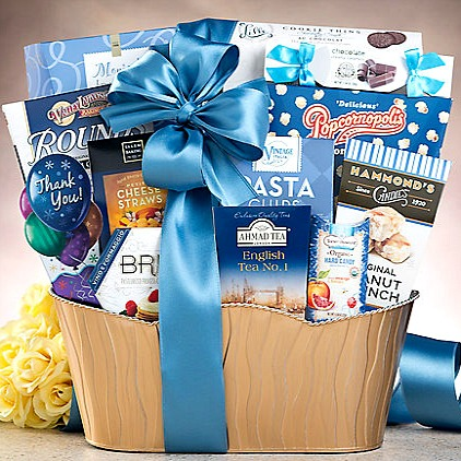 Thank You and Sincere Appreciation Gift Basket