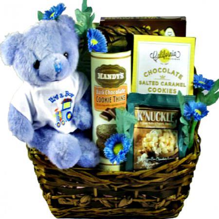 Precious Little Prince, Baby Boy Gift Basket