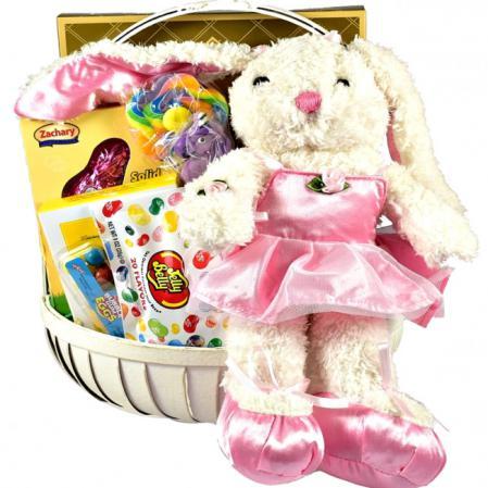 ballerina belle easter bunny gift basket