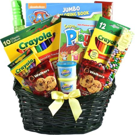 kids fun gift basket