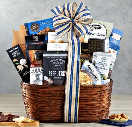 grilling hot gift basket