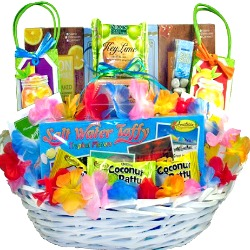 Tropical Treats Gift Basket