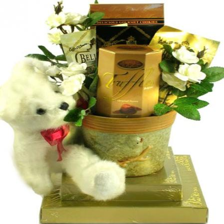 Beary Best Wishes, Gift Basket