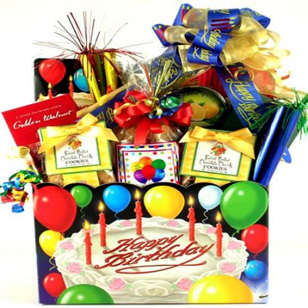 Deluxe Birthday Celebration Gift Box