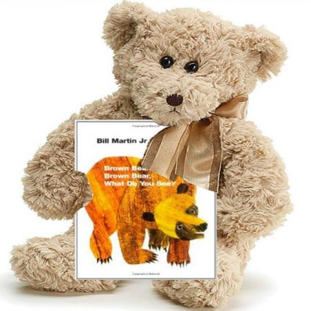 Brown Bear Baby Gift Set