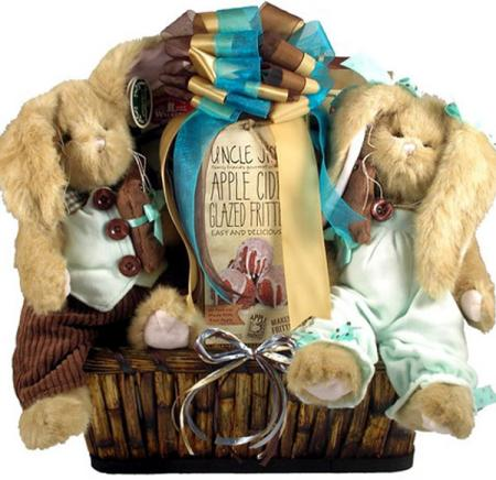 Big Bunny Patch Easter Basket