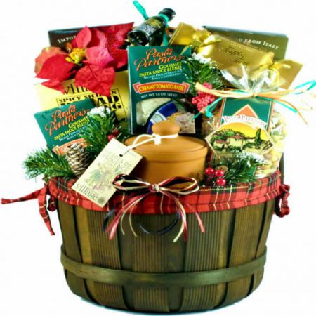 Italian Christmas Basket