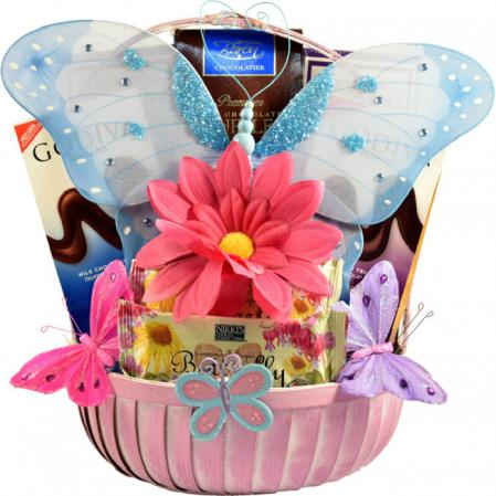 butterfly gift basket