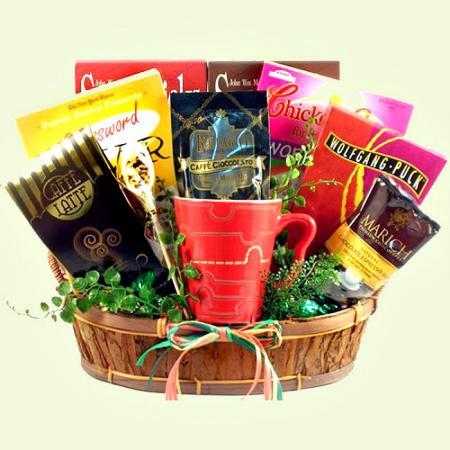 Cabin Fever Survival Gift basket