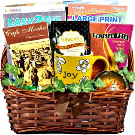 cabin fever gift basket
