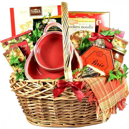 cafe gift basket