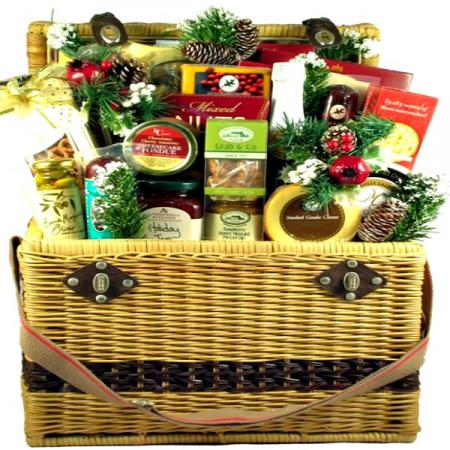 Central Park Holiday Basket