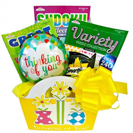 Cheerful Thinking of You Gift Basket for A Special Women