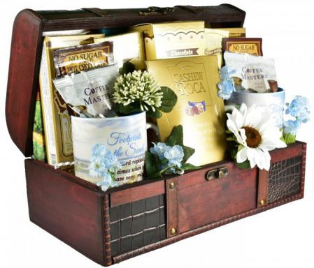 peaceful sympathy gift basket