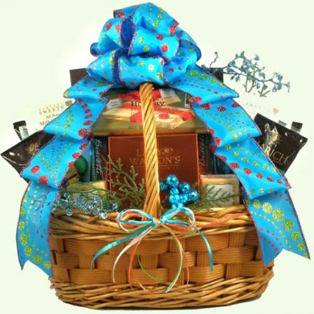 Large Caribbean Christmas Gift Baskets