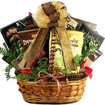 Grande Coffee Lovers Gift Basket