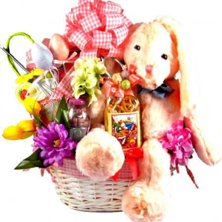 Easter Bunny Cottontail Basket