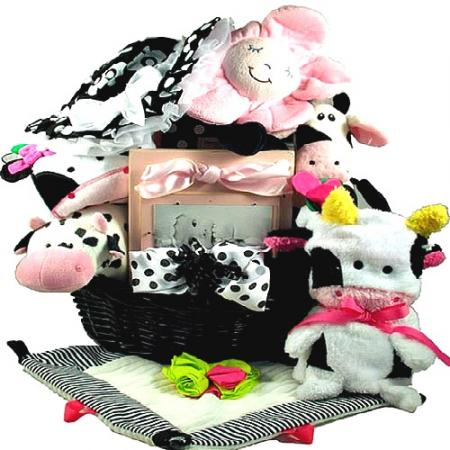 One-Of-A-Kind Baby Girl Gift Basket