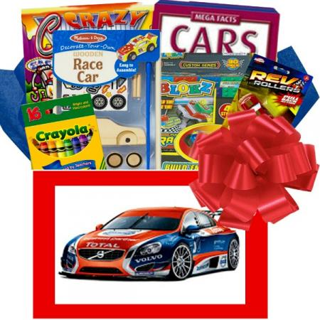 Crazy for Cars Kids Gift Box