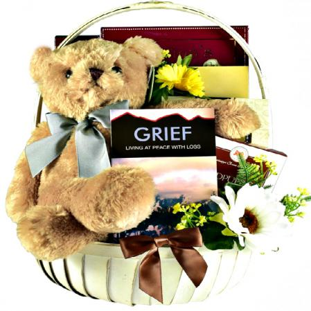 comfort and peace sympathy basket