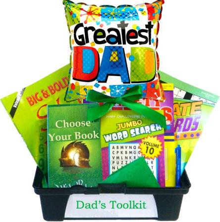 Dad's Toolkit, A Gift Basket for Fathers