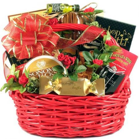 Romantic Date Night Gift Basket