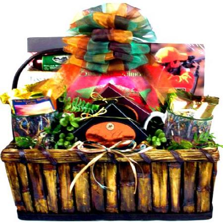 Deluxe Hunting Gift Basket For Hunters