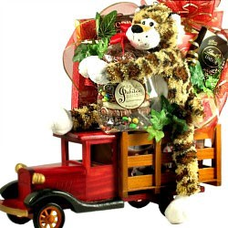 Drive Me Wild Romantic Gift Basket