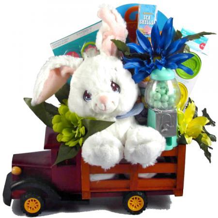 Easter Bunny Express Gift Basket
