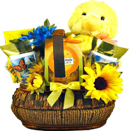 Easter Gift Basket, You Quack Me Up