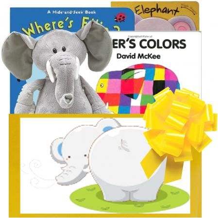 Elephants Everywhere Baby Gift