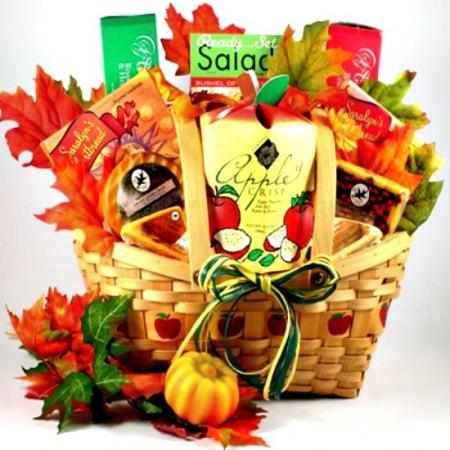 Autumn Abundance Gift Basket