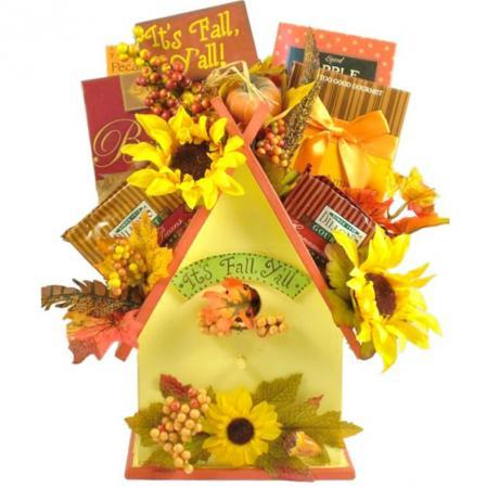 Fall Re-Tweet Birdhouse Gift