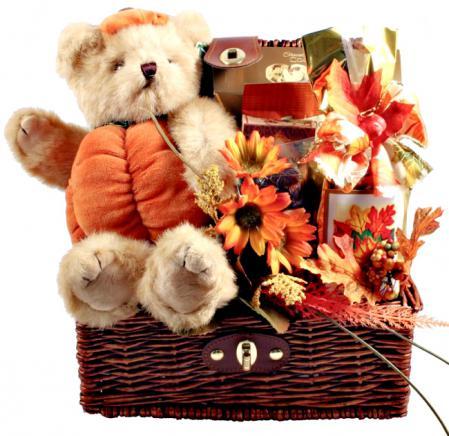 fall treasure gift trunk