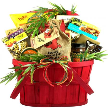 Hot Stuff! Fiesta Gift Basket