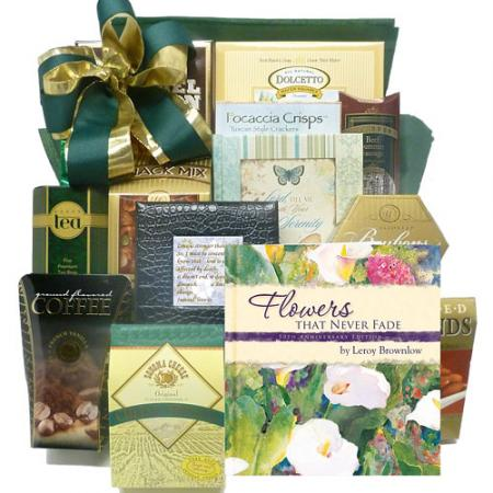 Flowers That Never Fade, Bereavement Gift Basket
