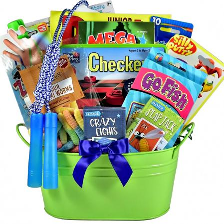 fun gift basket for kids